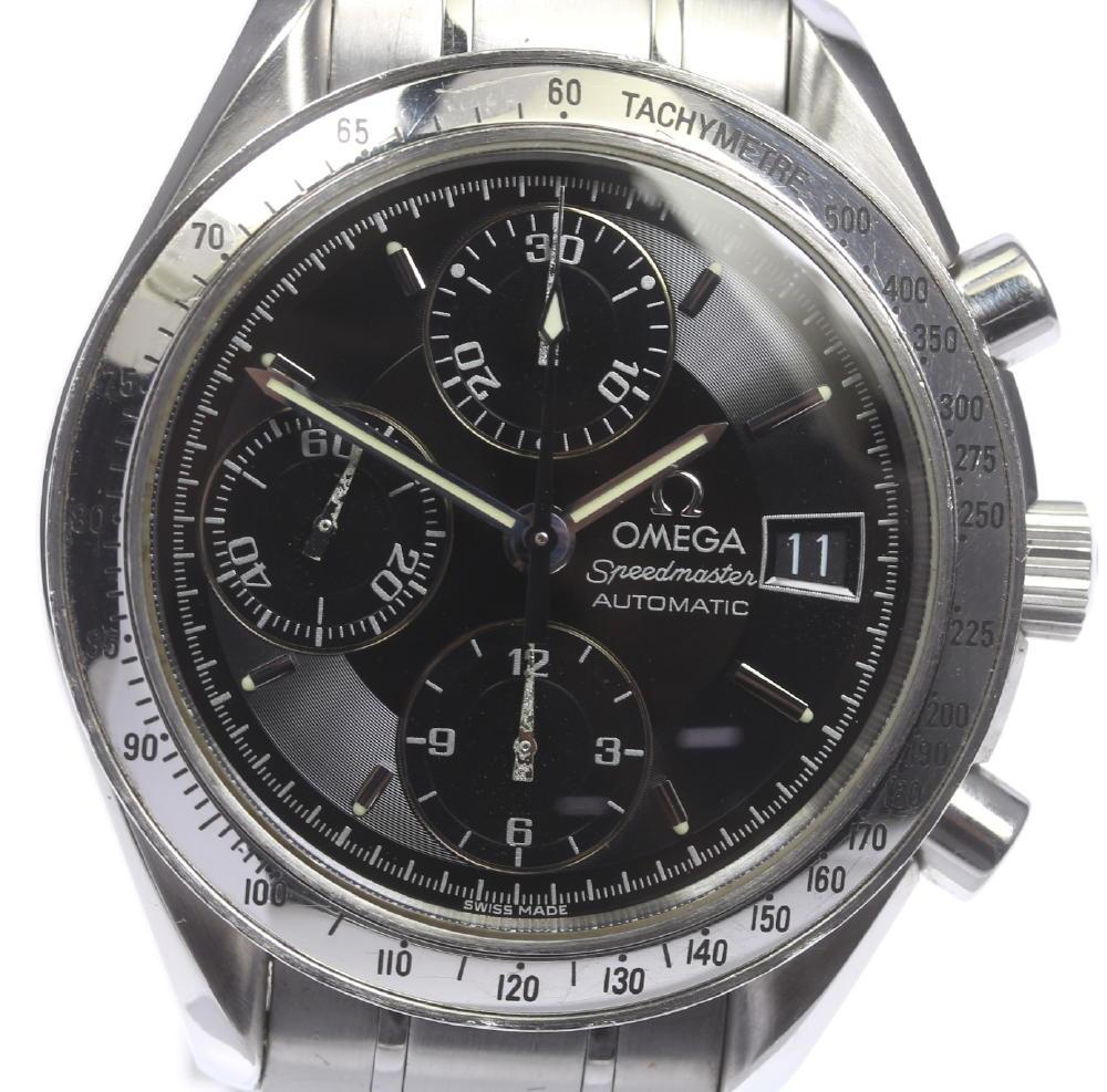 【OMEGA】オメガ スピードマスター 3513.50 デイト クロノグラフ 自動巻き メンズ【18125】【中古】
