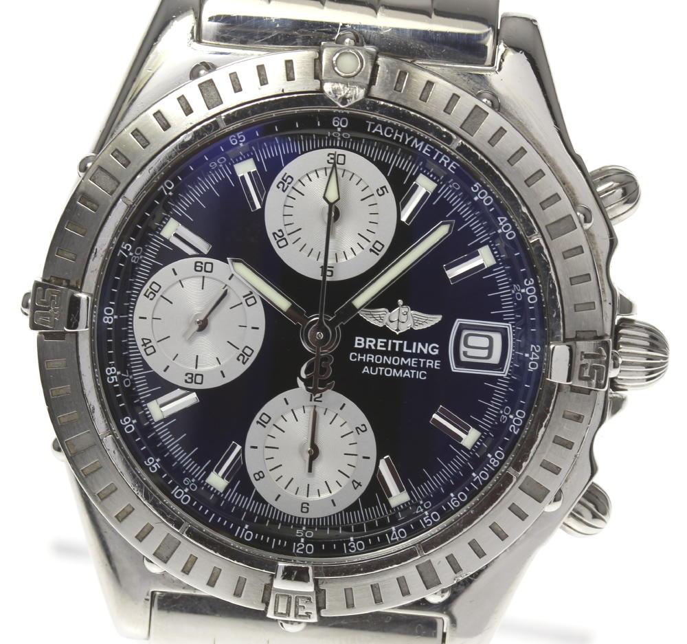 Blight Ring Kurono Mat A13352 Black Clockface Self Winding Watch Men