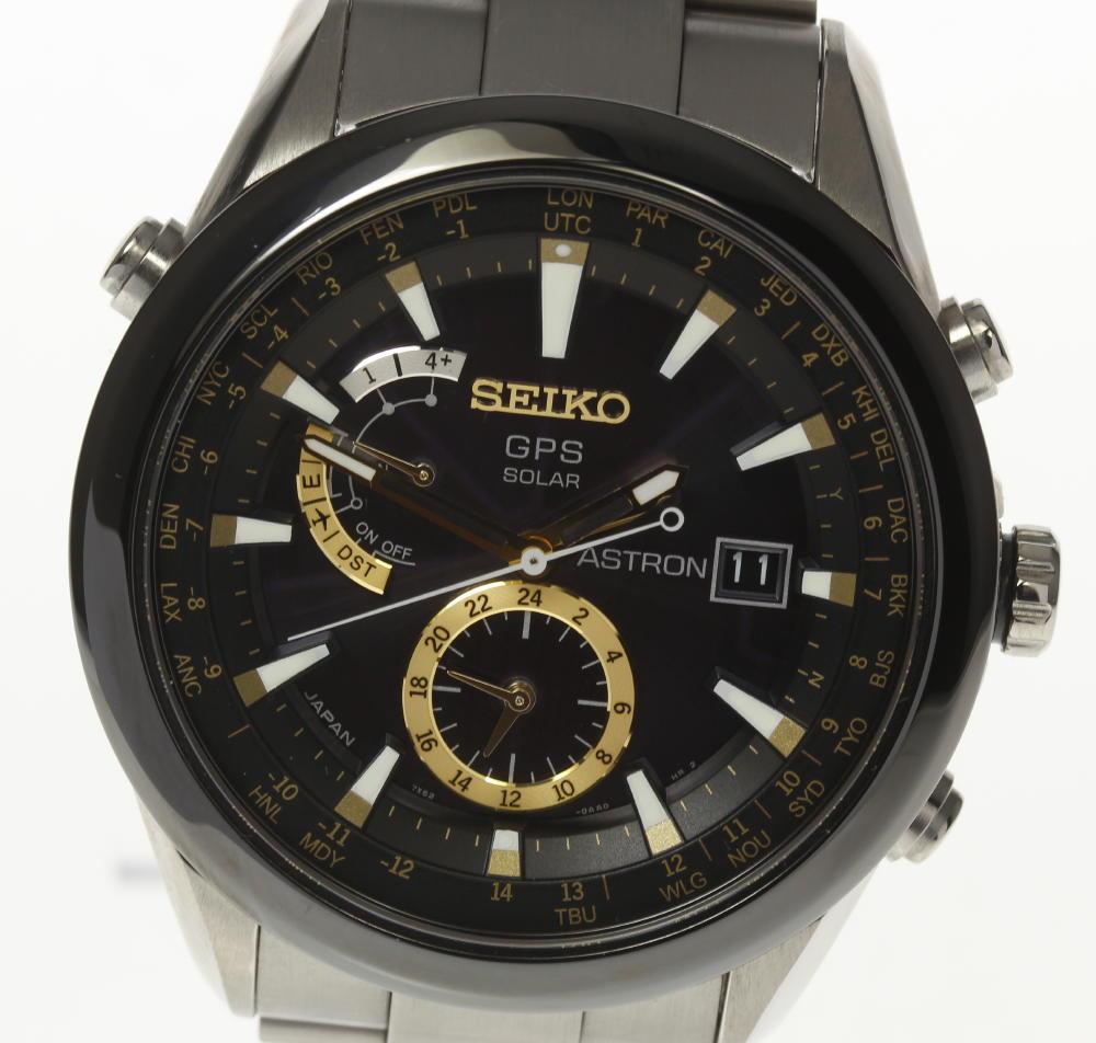 【SEIKO】セイコー アストロン SAST005 7X52-0AA0 GPSソーラー電波 メンズ【中古】