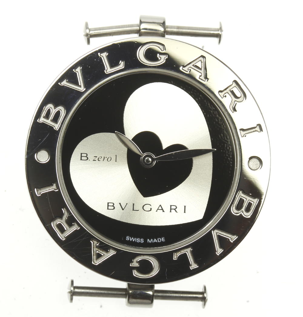良品!バックル付き【BVLGARI】ブルガリ BZ30S ビーゼロワン ダブルハート ヘッド★【中古】
