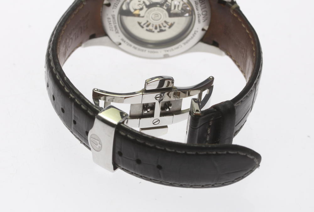 d26c1960744e 【BULOVA】ブローバ アキュスイス 63A122 スケルトン 自動巻き メンズ 腕時計のご紹介です! この機会に是非ご検討ください。