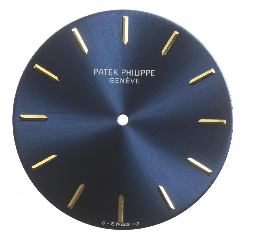 良品!★パテック・フィリップ PATEK PHILIPPE K18YG メンズ ネイビー文字盤★【中古】【event】