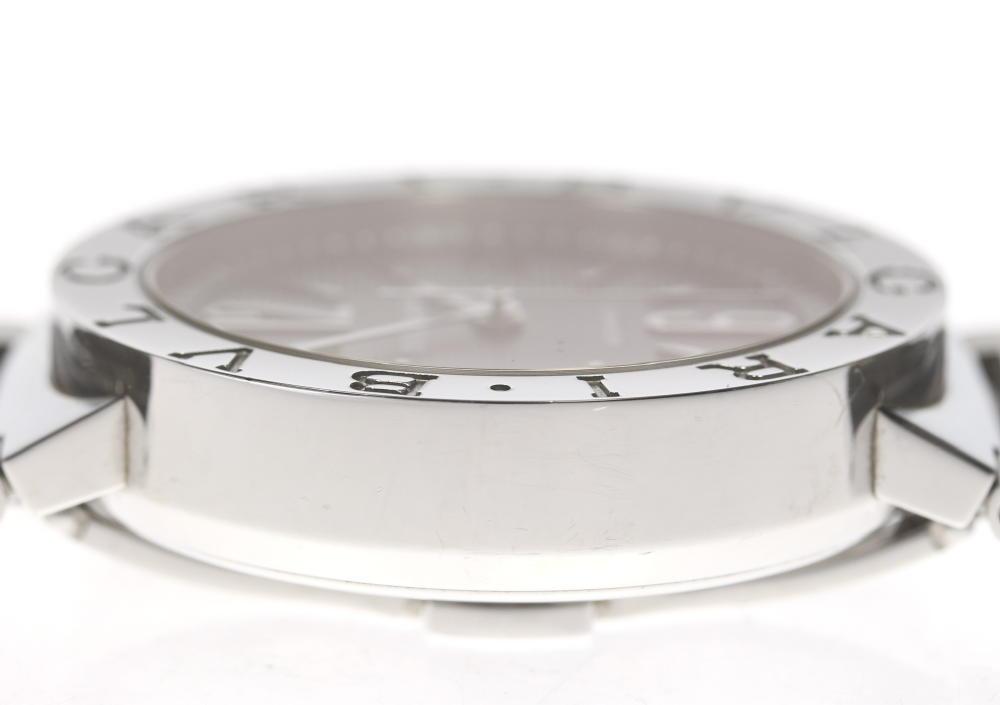 huge selection of 60b85 eb5ee Bulgari BB38SS Bulgari Bulgari date self-winding watch men