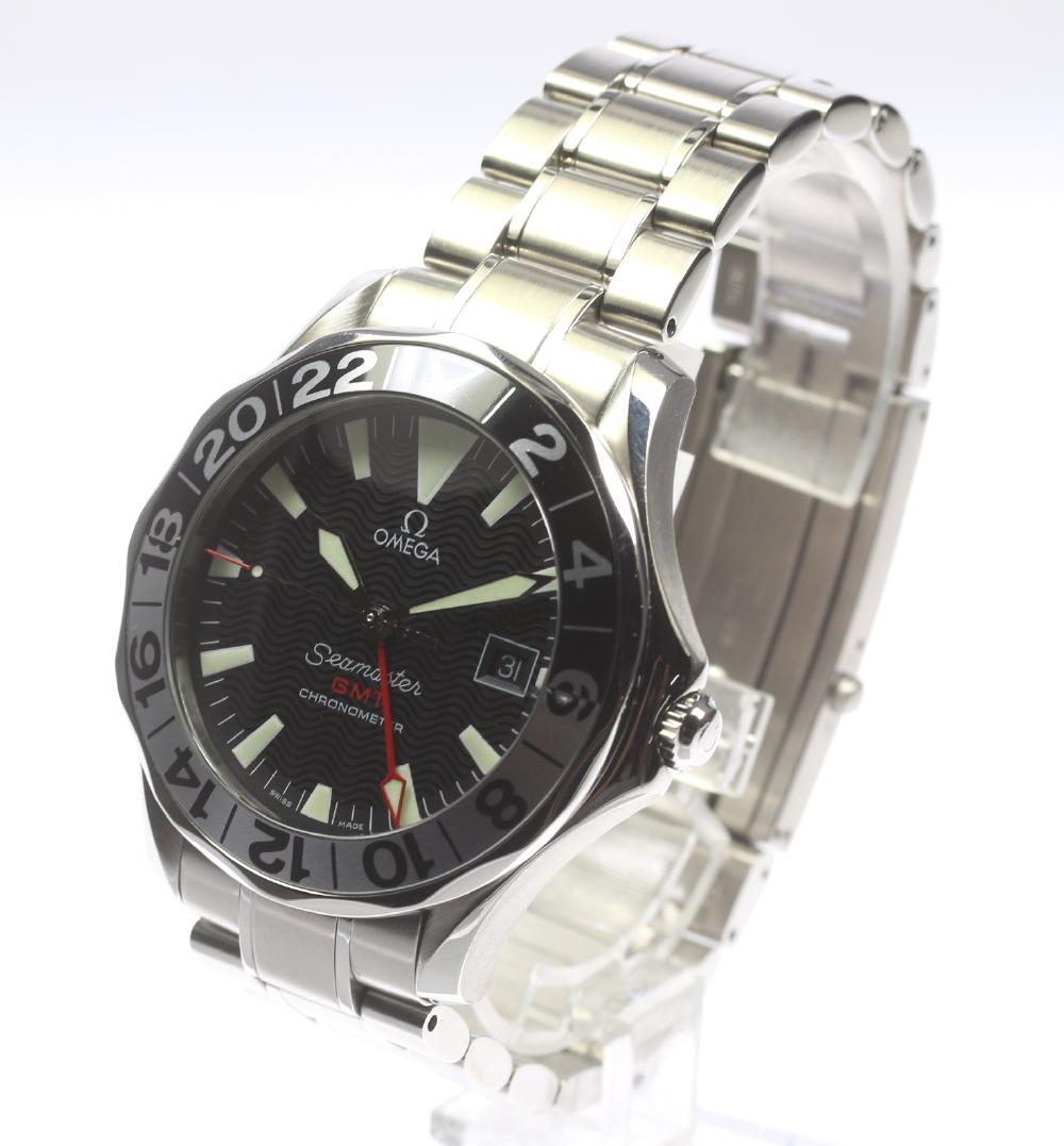 Omega SMP 300m GMT Jerry Lopez