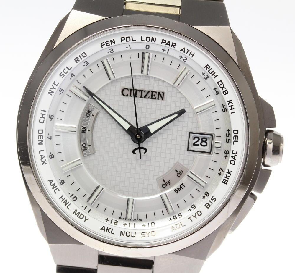 【CITIZEN】シチズン アテッサ H145-T018548 チタン エコドライブ ソーラー電波 メンズ【180914】