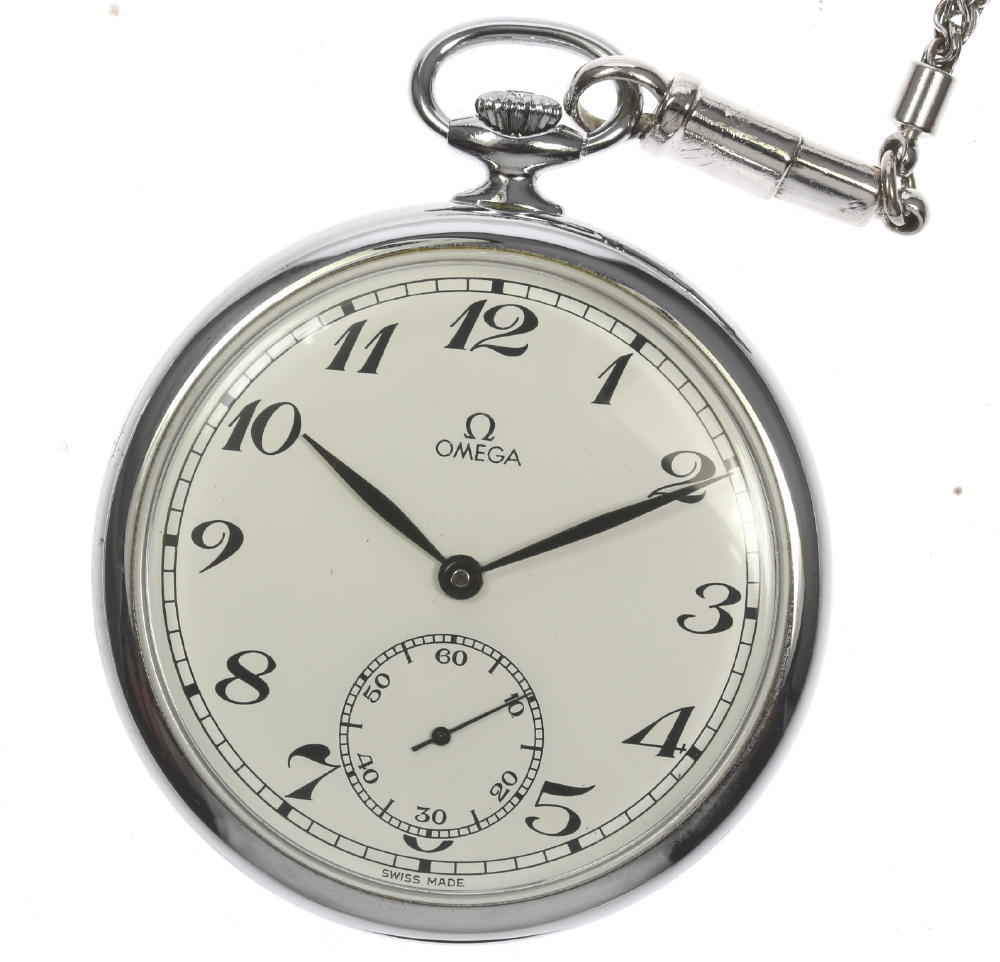 【OMEGA】オメガ 手巻き cal.960 スモセコ 48? 懐中時計【中古】