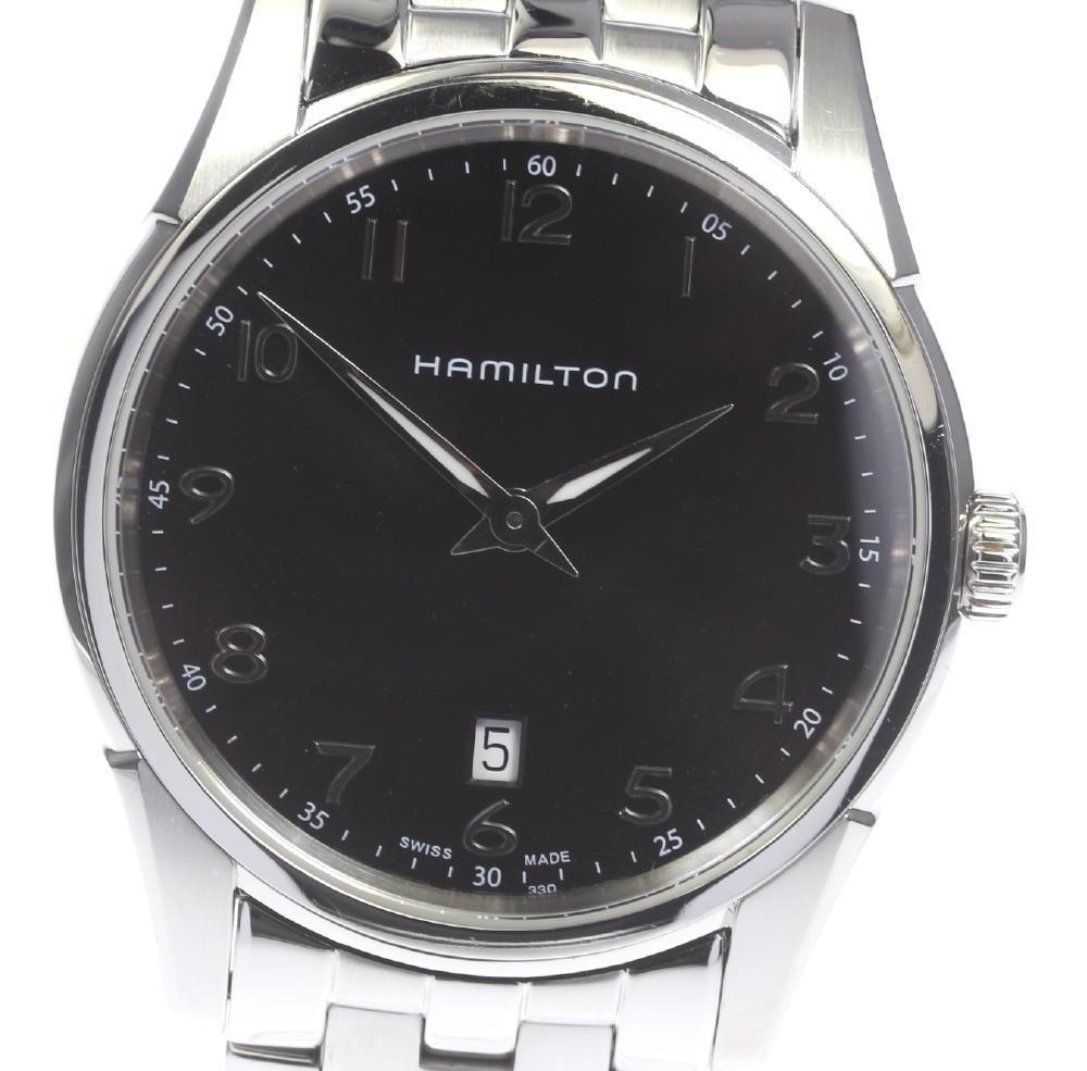【HAMILTON】ハミルトン ジャズマスター シンライン H385111 QZ メンズ【181004】【中古】