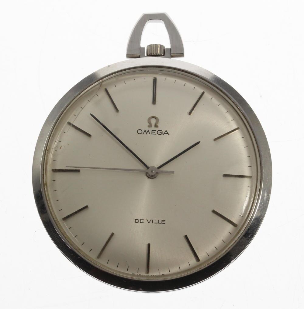 【OMEGA】オメガ デビル cal,601 手巻き アンティーク 懐中時計【中古】【181116】