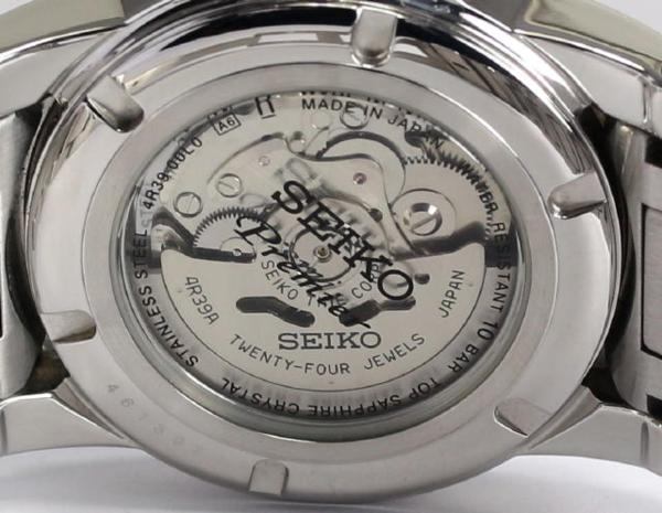 SEIKO pull Mie 4R39-00L0 self-winding watch men☆