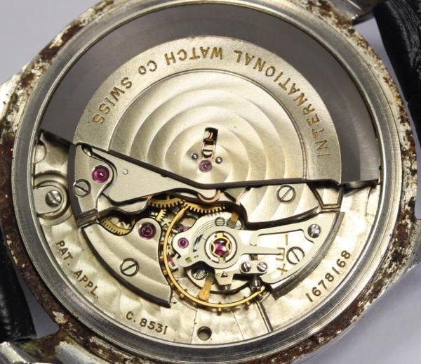 Than IWC old interchange Cal .8531 eyes date self-winding watch men☆