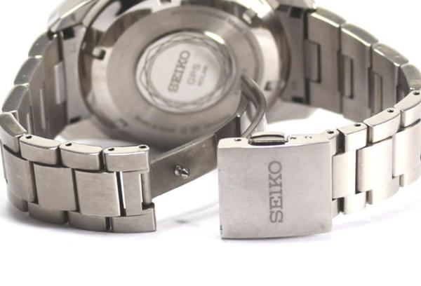 세이코아스트론 SBXA005 7 X52 솔러 GPS 위성 전파 티탄