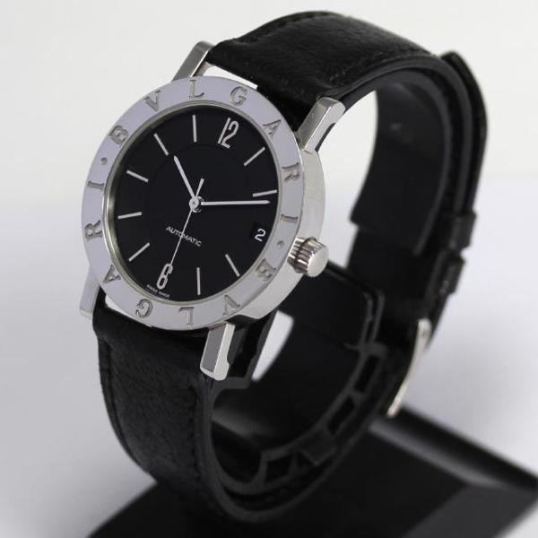 Bulgari Bulgari BB33SL AUTO self-winding watch leather men