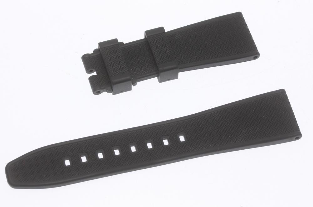 ★良品★【Bell&Ross 】ベル&ロス ラグ幅 22 mm 黒 腕時計用 ラバーベルト【中古】