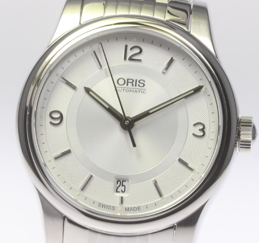 ★極美品★箱付【ORIS】オリス クラシック デイト 7578 自動巻き メンズ【中古】