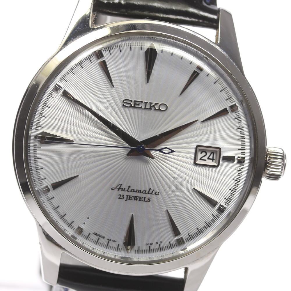 new arrival 3892b e039d SEIKO mechanical SARB065/6R15-01S1 self-winding watch leather belt men ★  box, 保