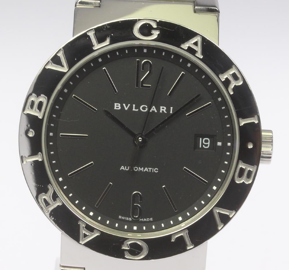 ★良品★【BVLGARI】ブルガリブルガリ BB38SS 自動巻き メンズ【中古】