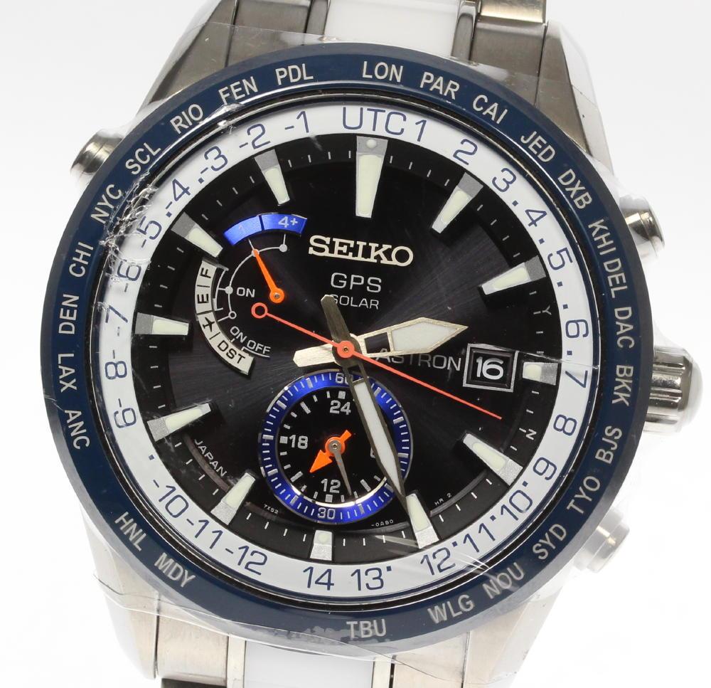 保証書付【SEIKO】セイコー アストロン SBXA029 7X52-0AJ0 1200本限定 GPSソーラー電波 メンズ【中古】