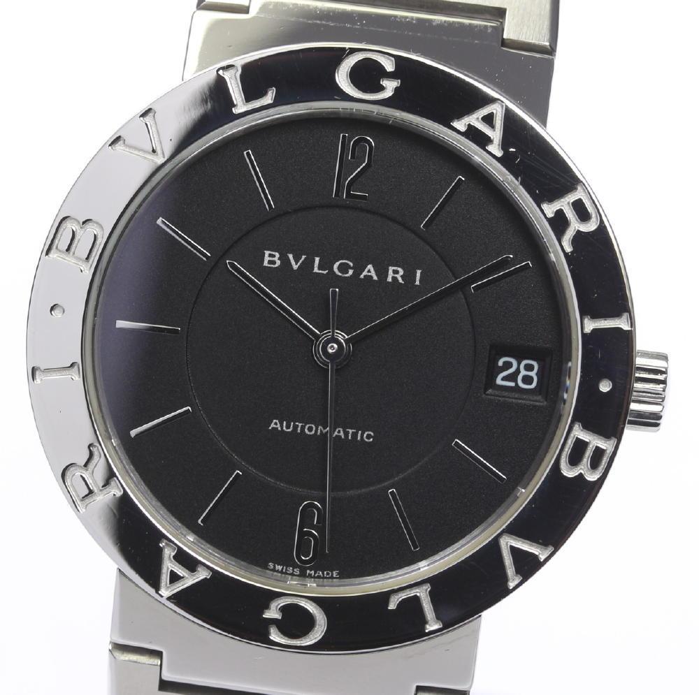 ★美品★【BVLGARI】ブルガリブルガリ BB33SS 自動巻き メンズ【中古】