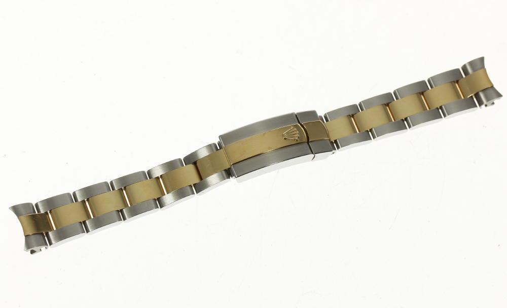 ★良品★【ROLEX】ロレックス ラグ幅 13mm SS×YG レディース 腕時計用 ブレス【中古】