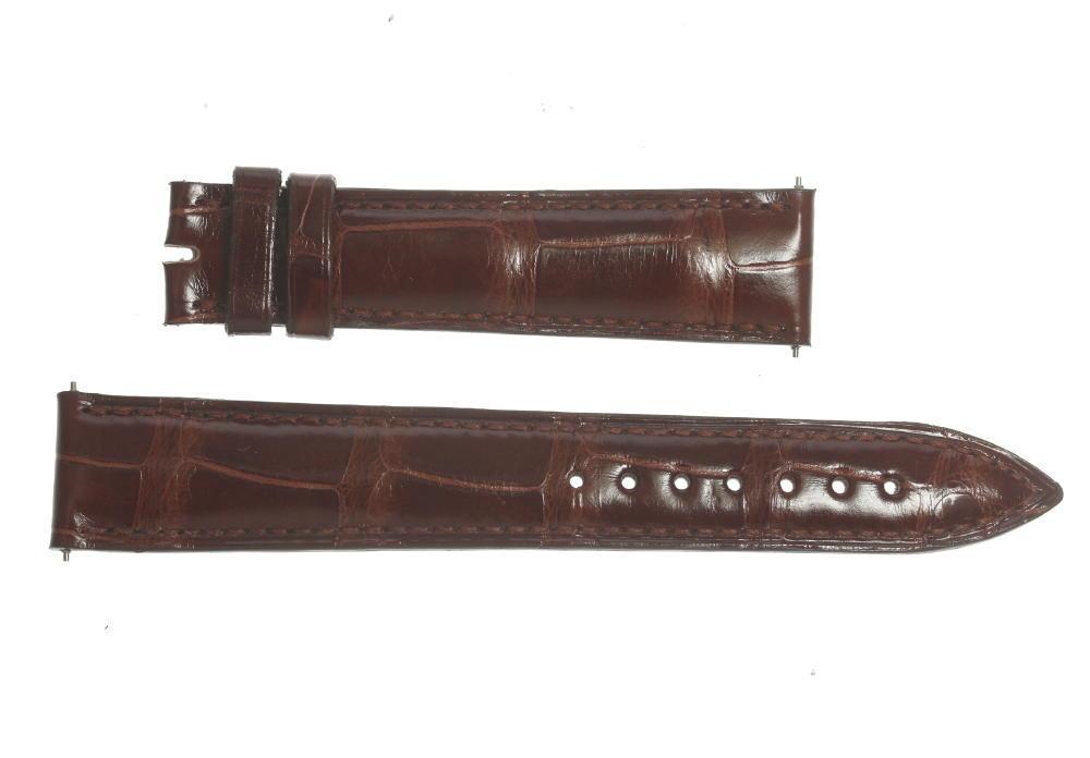 ★未使用品★【FRANCK MULLER】フランクミュラー ラグ幅 18mm 茶色 革ベルト【中古】