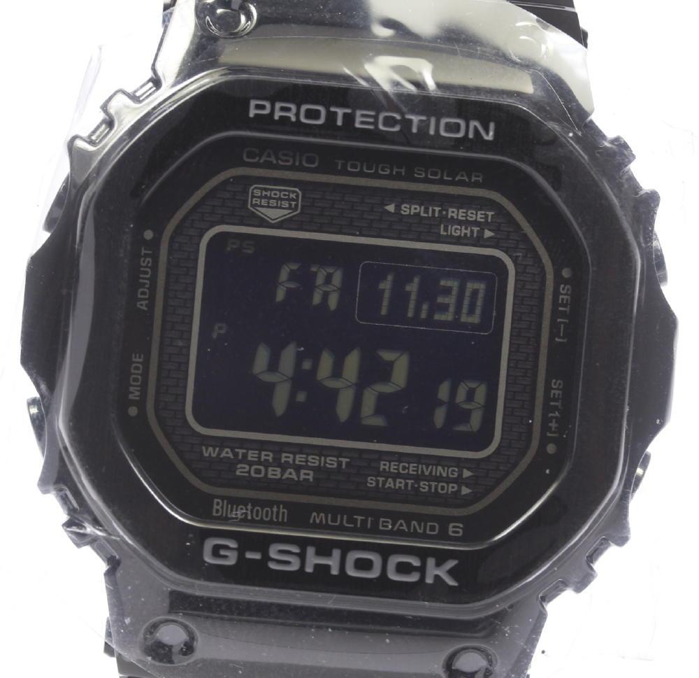 ★未使用品★【CASIO】カシオ G-SHOCK Gショック Bluetooth搭載 GMW-B5000GD-1JF ソーラー電波 メンズ【中古】