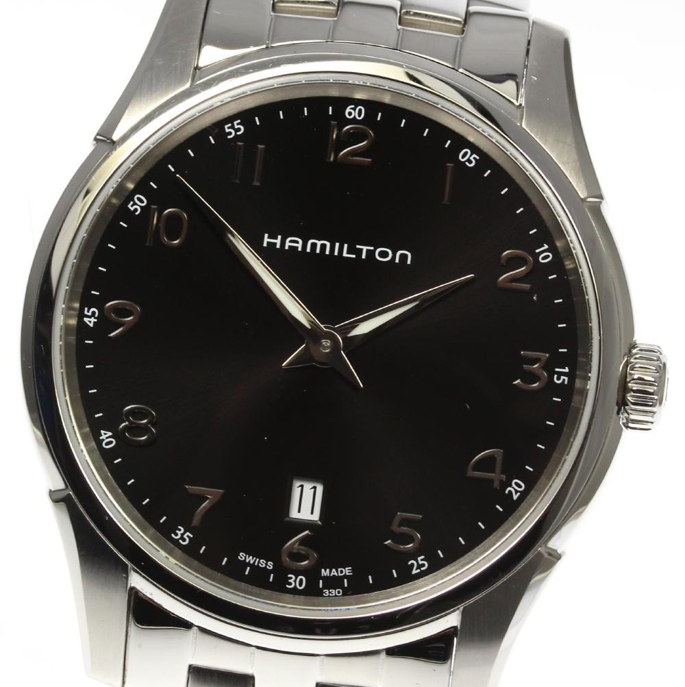 【HAMILTON】ハミルトン ジャズマスター シンライン H385111 QZ メンズ★【中古】