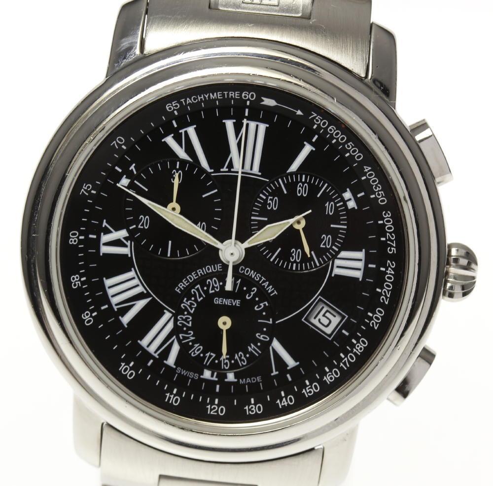 0380405a4 CLOSER: Frederick constant chronograph FC286X3P5/6 quartz men ...
