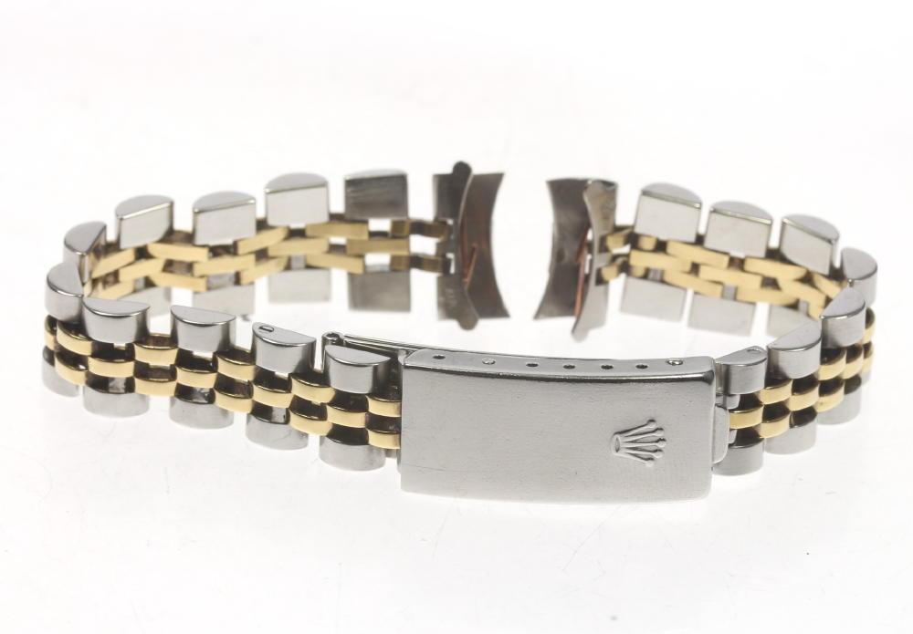【ROLEX】ロレックス 62523D ラグ幅 13mm SS×YG レディース 腕時計用 ブレス【中古】【event】