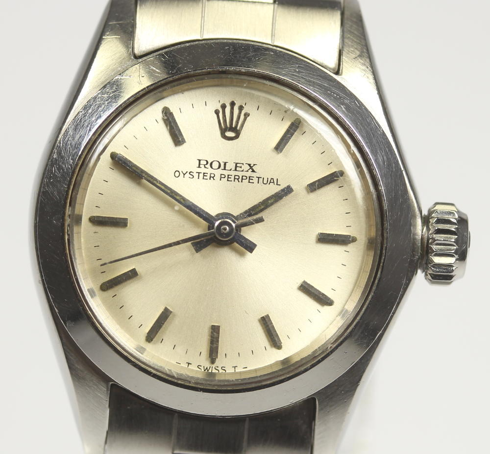 【ROLEX】ロレックス オイスターパーペチュアル 6618 cal.1161 自動巻き レディース【中古】【190302】