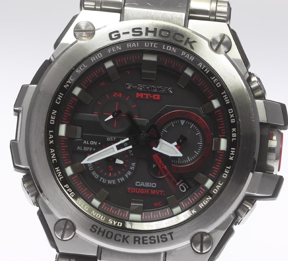 箱保付【CASIO】カシオ G-SHOCK Gショック MT-G MTG-S1000D-1A4JF ソーラー電波 メンズ【中古】【190321】
