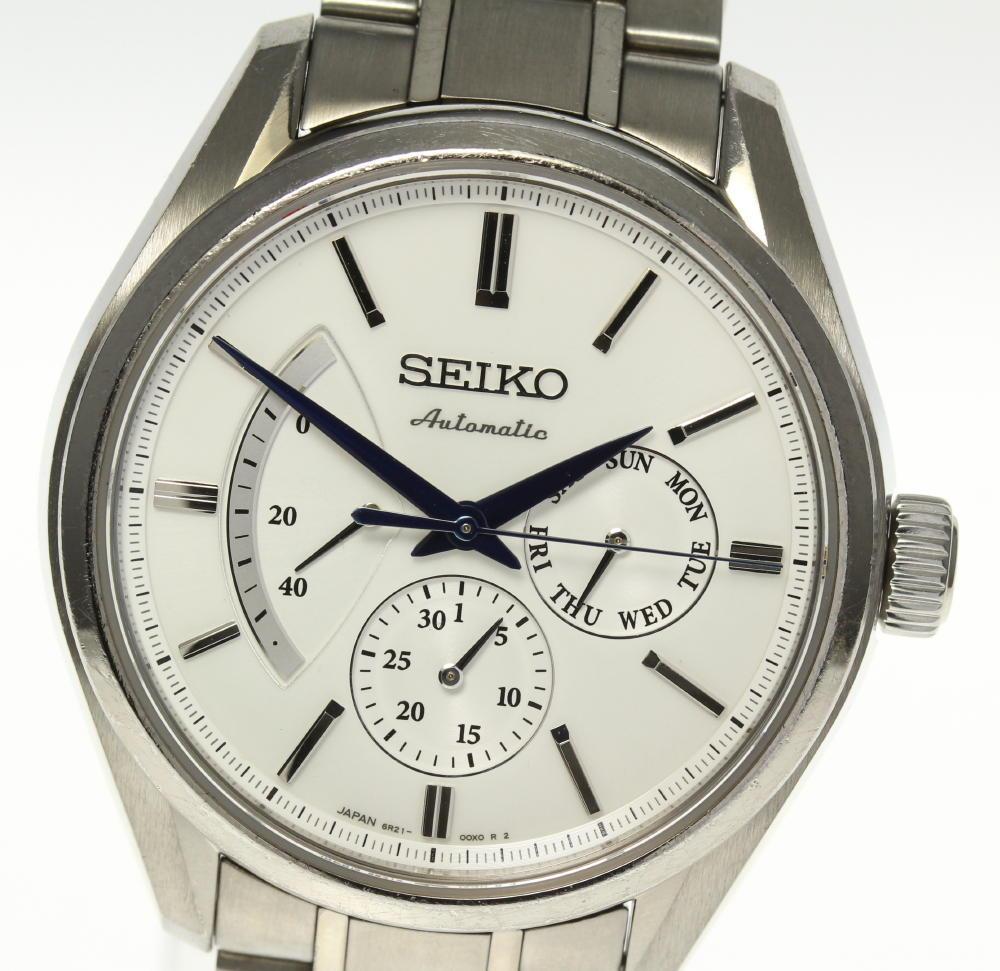 【SEIKO】セイコー プレサージュ SARW021 6R21-01B0 自動巻き メンズ【中古】【190321】