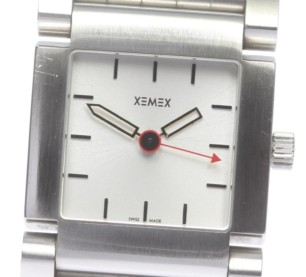 【XEMEX】 ゼメックス Kulling スクエア 自動巻き メンズ【中古】【190321】