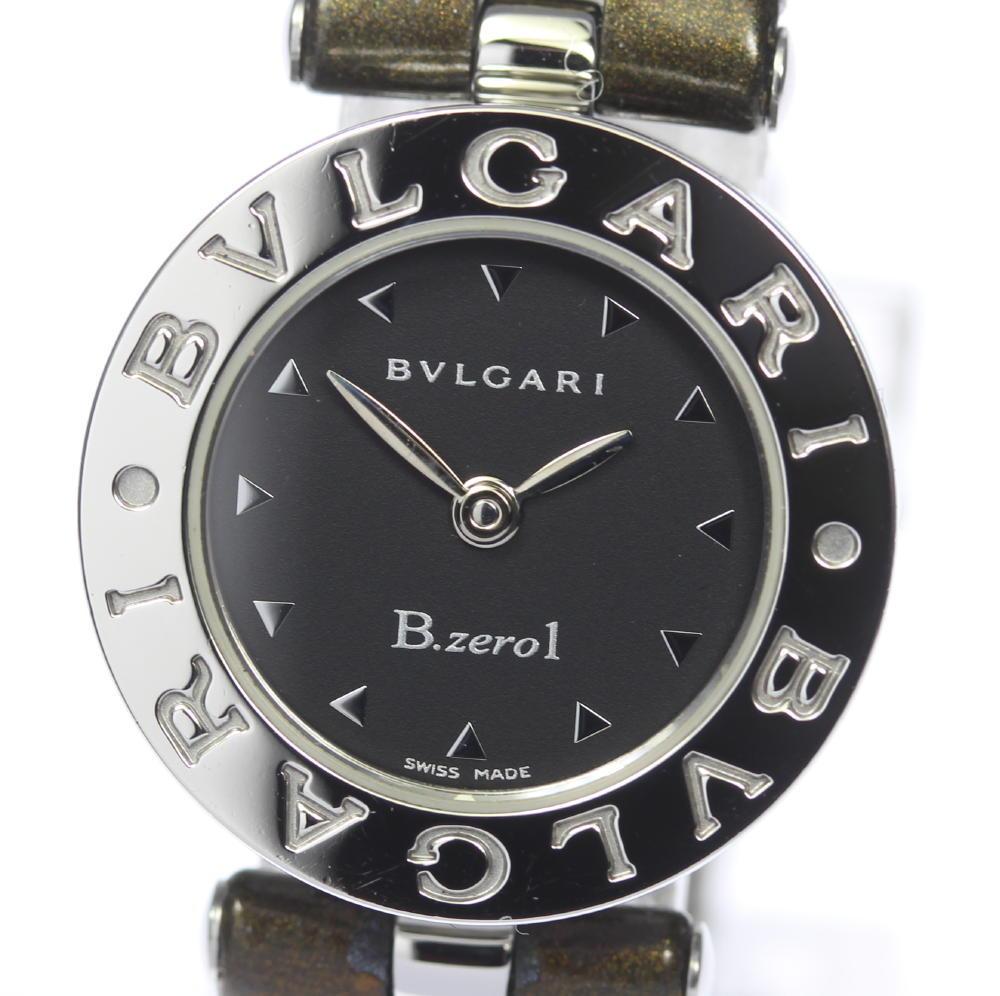 保証書付 【BVLGARI】ブルガリ BZ22S B-zero1 クォーツ レディース【中古】