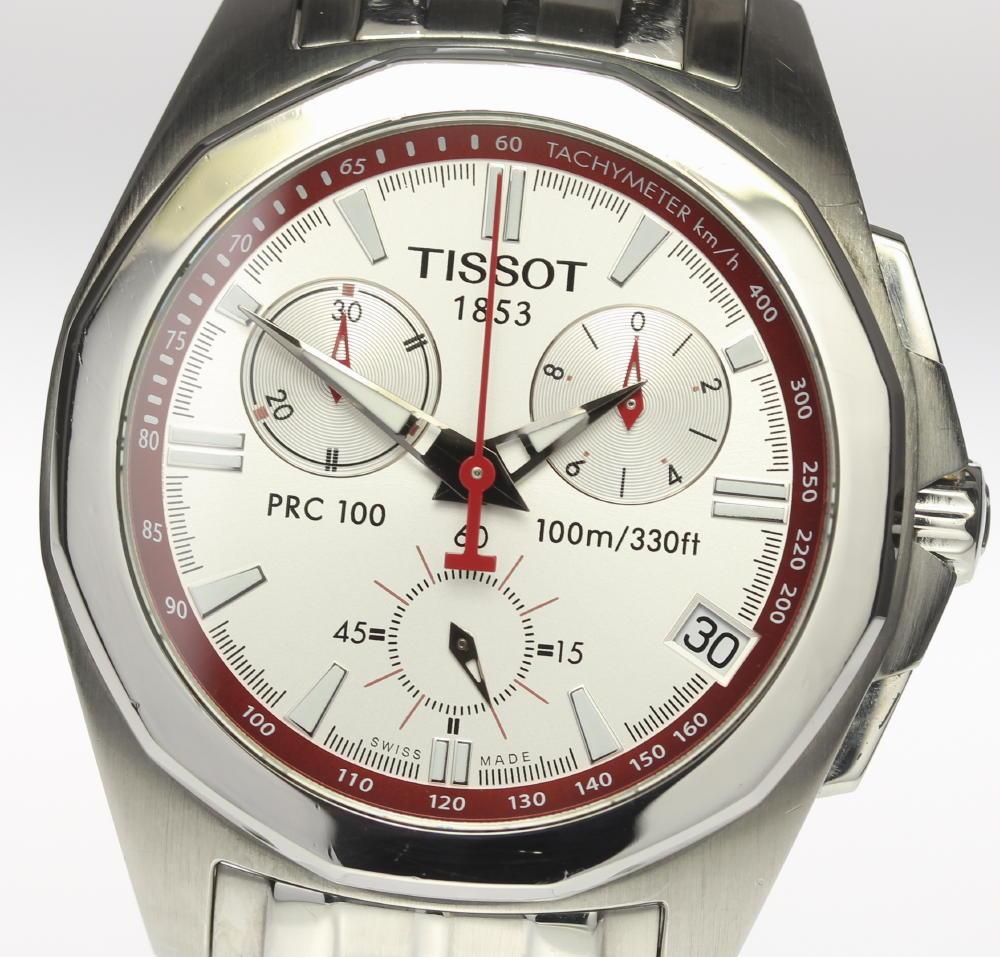【TISSOT】ティソ PRC100 DOHA2006 クロノグラフ QZ メンズ【中古】