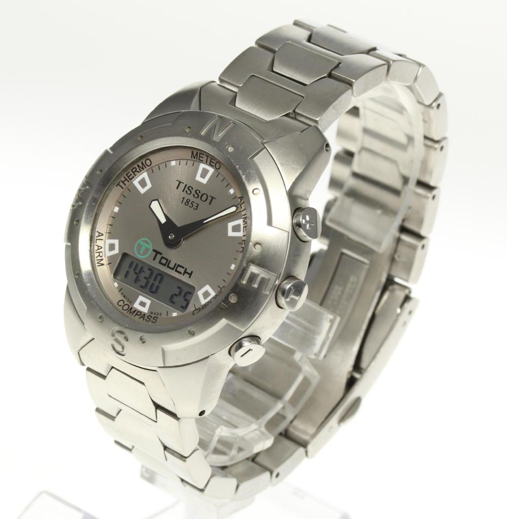Tissot T touch Z251/351 digital-analogue clock quartz men