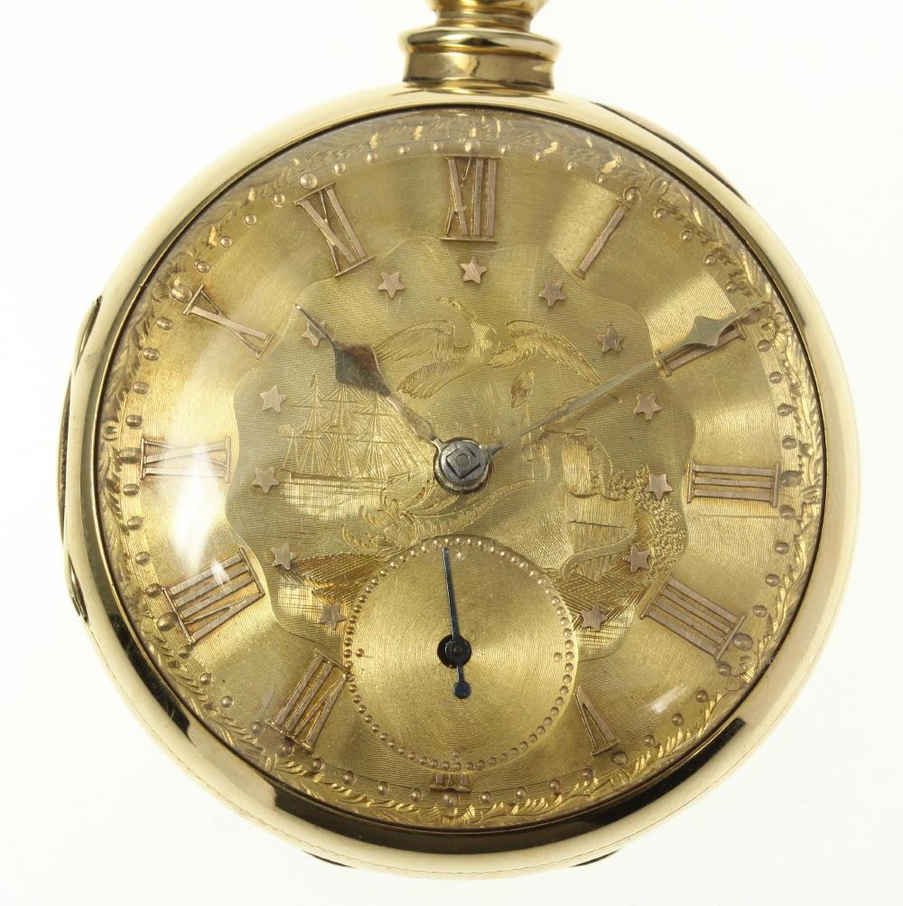 ※ジャンク品 K14 スモセコ 50mm 懐中時計【中古】