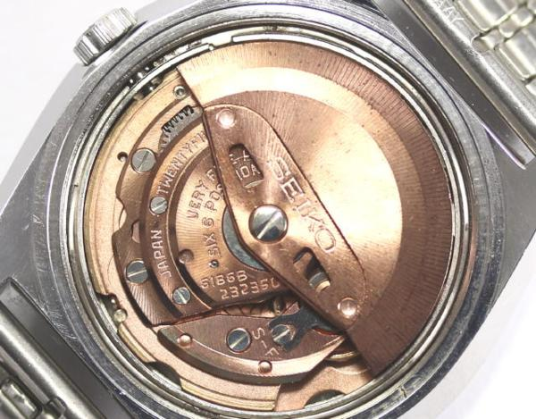 그랜드 세이코 VFA 6186-8000-G자동감김 희소 맨즈 손목시계