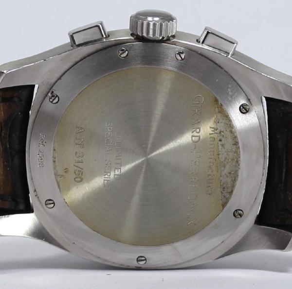 지라르페르고빈테이지 1960 서일본 한정 2598 맨즈 손목시계
