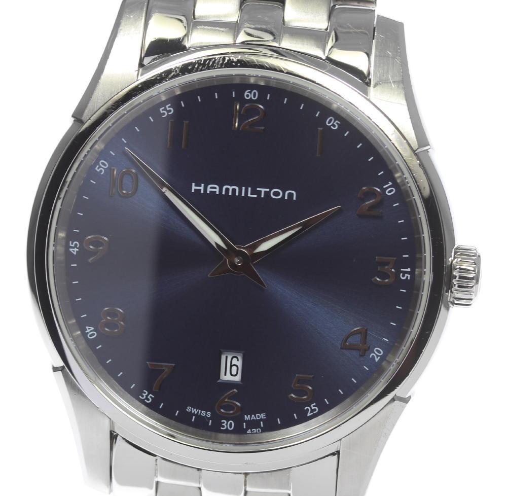 ハミルトン HAMILTON ジャズマスター H385111 シンライン クォーツ メンズ★【ev10】【中古】