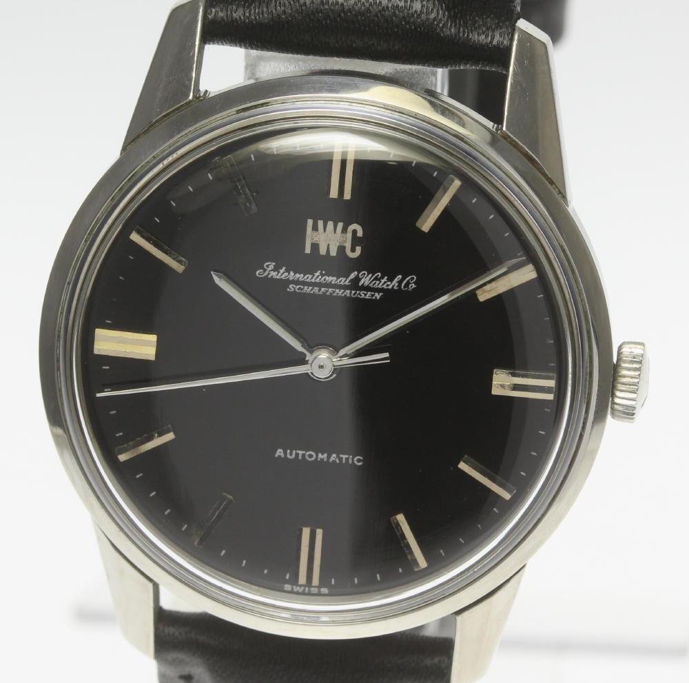 【International Watch Co】IWC cal.854B リダン文字盤 革ベルト 自動巻き メンズ【19112】