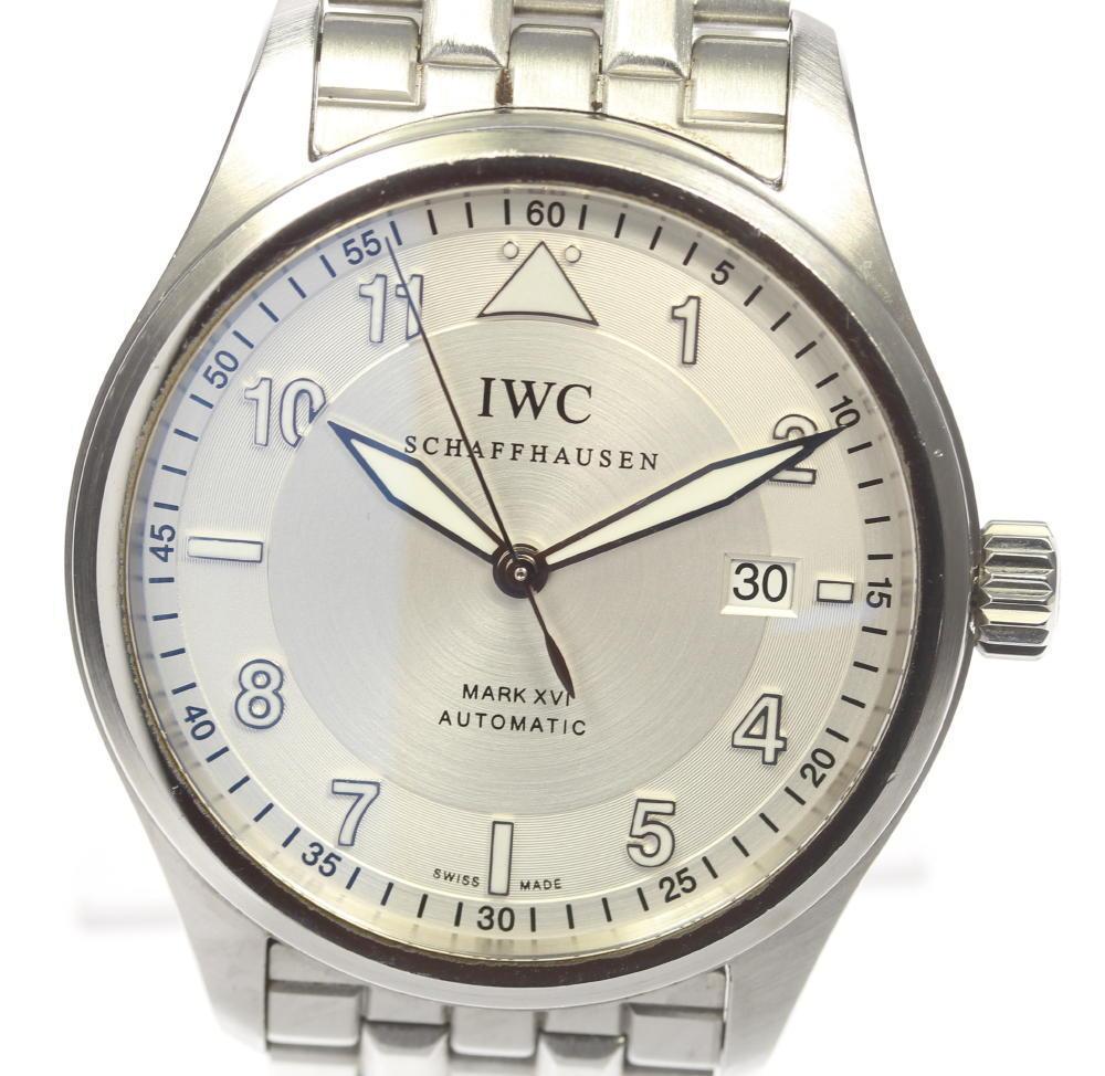 【IWC】IWC スピットファイヤー マークXVI IW325505 自動巻き デイト メンズ【中古】