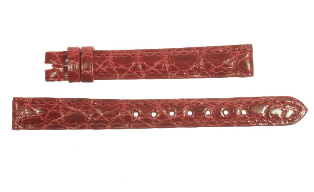 ★未使用品★【BLANPAIN】ブランパン ラグ幅11mm 赤色 レディース 腕時計用革ベルト【ev10】【中古】