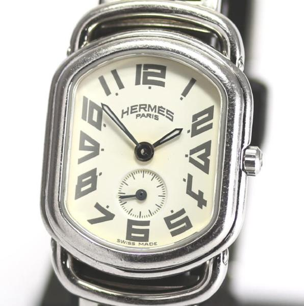 헤르메스 랠리 RA2. 210 QZ D버클 레이디스 손목시계
