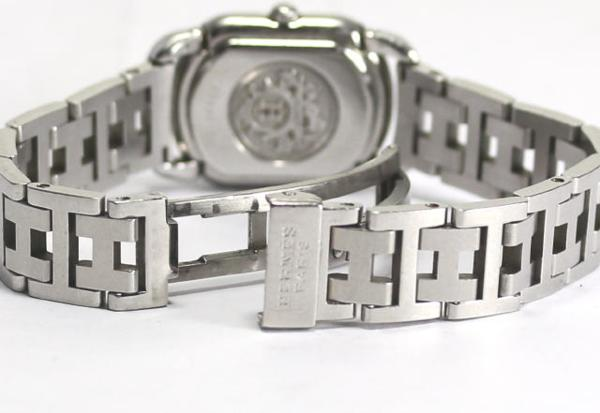 Hermes rally RA2 .210 QZ D buckle Lady's watch