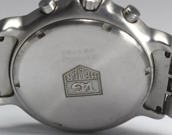 ※(뜻)이유 있어 태그호 이어 6000 시리즈 CH1111-0 크로노 QZ맨즈