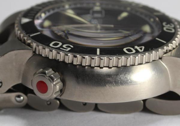 orisu TT1潜水员计时仪钛7542 AT人