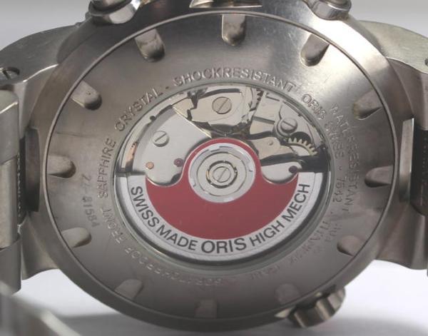 오리스 TT1 다이바즈크로노그라후치탄 7542 AT맨즈