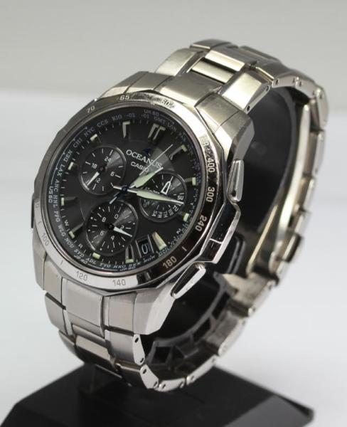 Casio Osh holes OCW-S1000 solar electric wave men☆