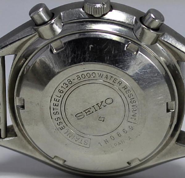 SEIKO 세이코크로노6138-8000역팬더 AT맨즈