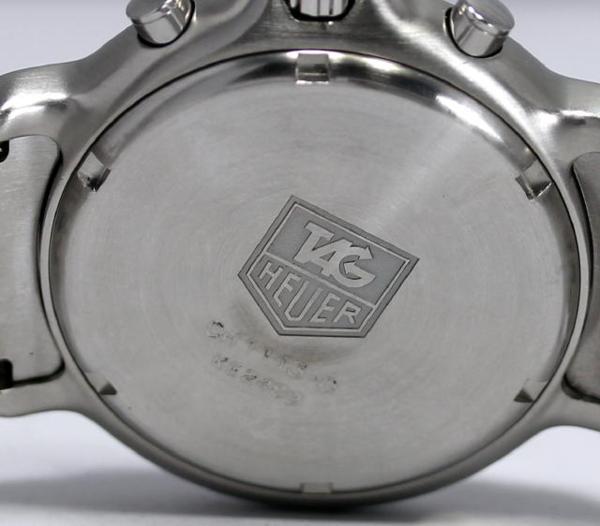 테그호이어 6000 시리즈 크로노그래프 CH1113-0 맨즈 QZ